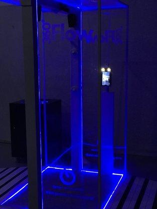 360 Flow Biossegurança Sanitizante sem químicos Portal Cabin