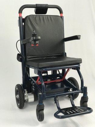 Cadeira de rodas Dobrável Motorizada Scalare que Sobe e Desce Escadas