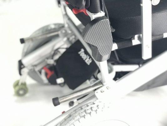 Carenagem traseira direita cadeira de rodas Divinità