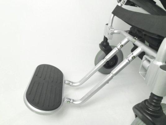 Extensor do suporte dos pés personalizado cadeira de rodas D