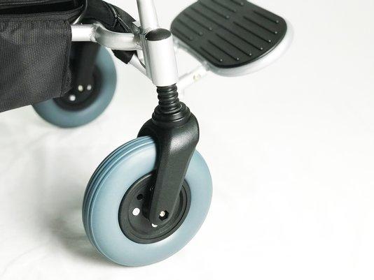 Garfo Diânteiro com amortecedor cadeira de rodas Divinità